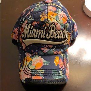 "floral ""Miami Beach"" hat💐"